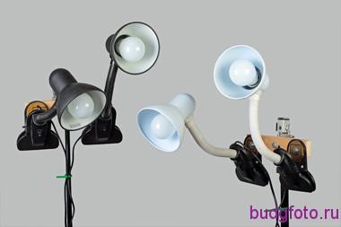 Комплект света для домашней студии.