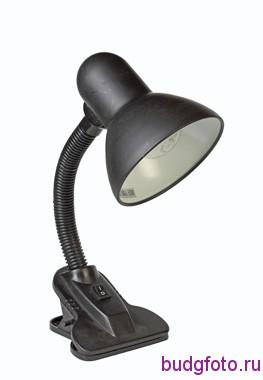 Настольная лампа с прищепкой