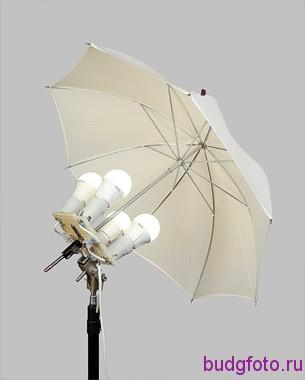 Установка зонтика