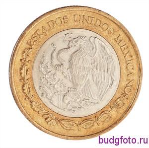 Мексиканская монета