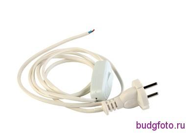 Шнур питания с выключателем