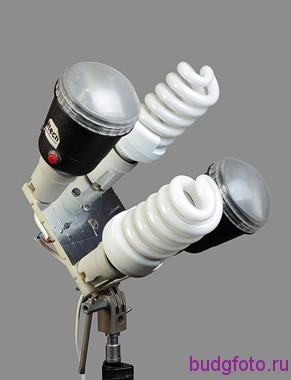 Смешанная установка ламп
