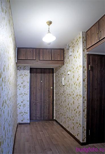 коридор после ремонта