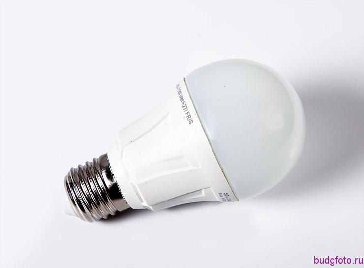 стандартная светодиодная лампа