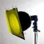 Пример установки светофильтра